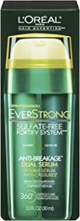L'Oreal Paris Hair Expertise EverStrong Anti-Breakage Double Force Cream Serum, 1.0 Fluid Ounce