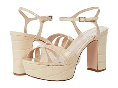 Schutz Keefa (Almond Buff) High Heels