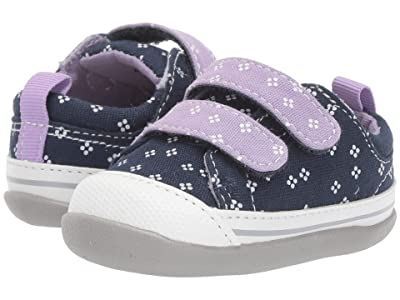 See Kai Run Kids Robyne (Infant/Toddler) (Navy/Purple) Girl