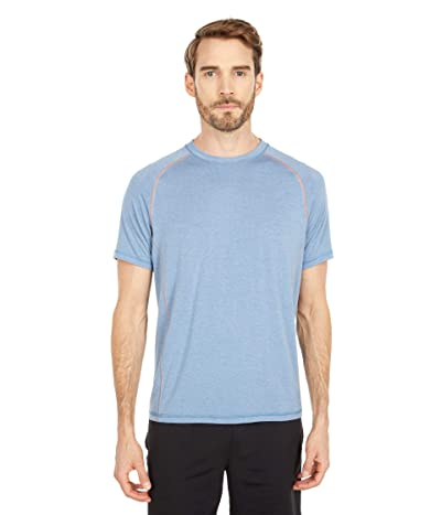 tasc Performance Dynamic Tech Tee (Indigo Heather/Sahara) Men