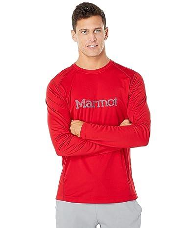 Marmot Windridge with Graphic Long Sleeve Shirt