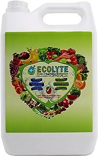 Ecolyte Fruits & Vegetables Disinfectant 100% Natural - 5 Litre