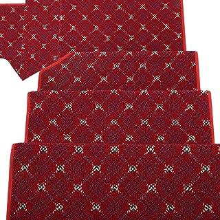JIAJUAN Stair Carpet Treads Non-Slip Step Mat Durable Indoor Washable,3 Colors, 4 Sizes, Customizable (Color : C-1 pcs, Si...