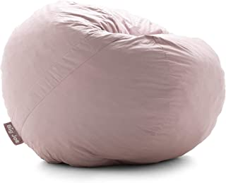 Big Joe Lenox Shredded Foam Bean Bag, Nest, Desert Rose