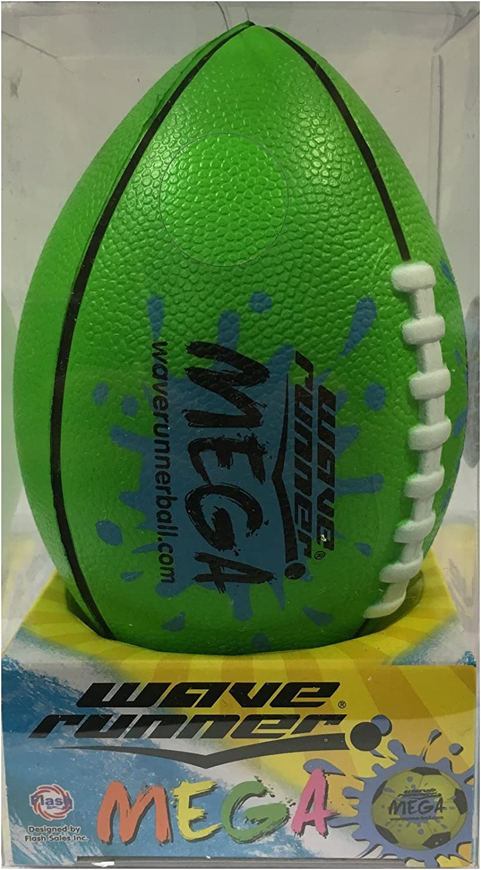 Flash Sale Wave Runner Mega Football Water Bouncer Skipping Ball, Green