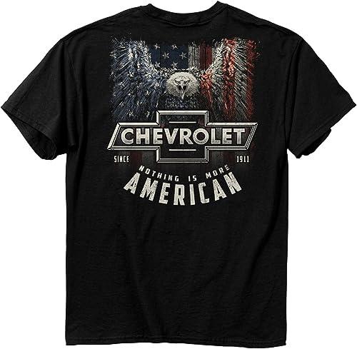 Buck Wear Men's Chevy More American Cotton T-Shirt