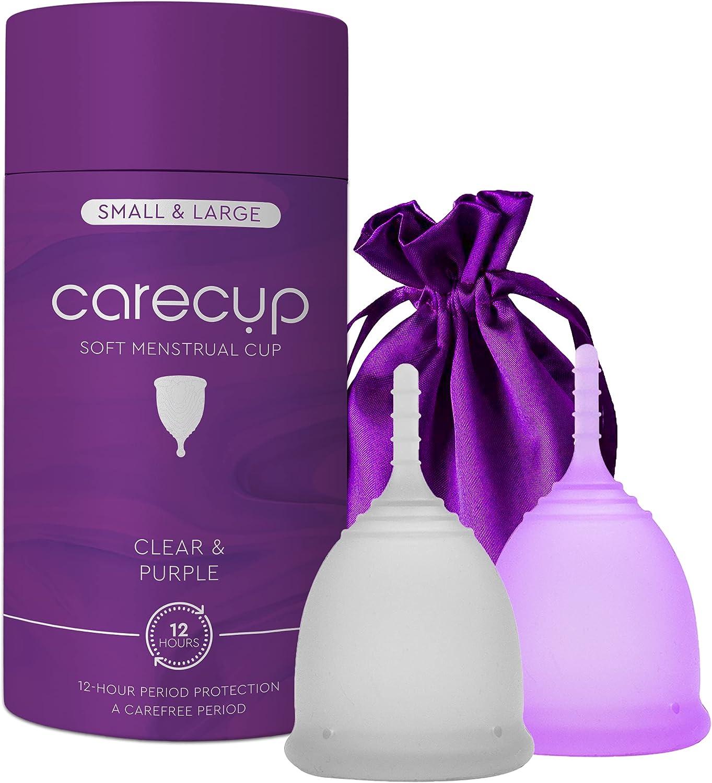 CareCup Menstrual Cups - Set of Premium Period Reusable 2 OFFicial Max 51% OFF