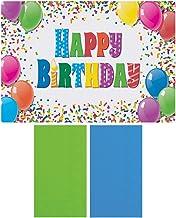 Hoffmaster 856784 Happy Birthday Disposable