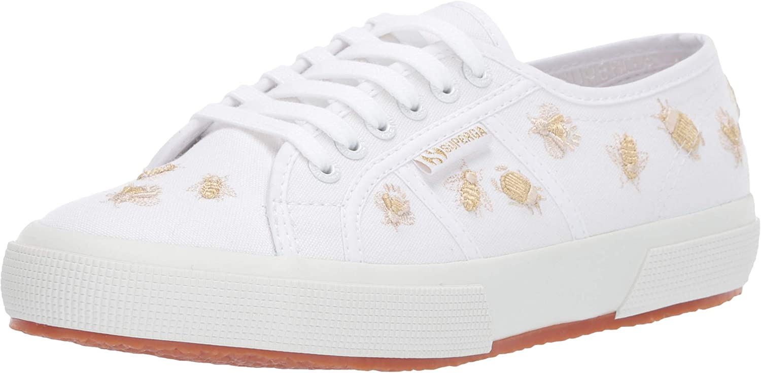 Superga Womens 2750 Insectembroiderycotw Sneaker