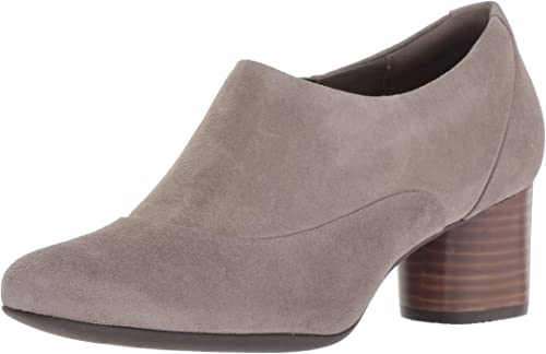 CLARKS femmes Un Cosmo Zip Oxford, Taupe Suede, Taille 7