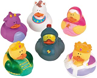 Fun Express - Fairy Tale Rubber Duckies - Toys - Character Toys - Rubber Duckies - 12 Pieces