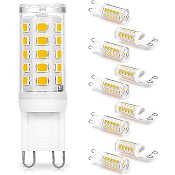 x10 each G9 120 volt 40 watt Loop Pin Halogen Light Bulb G 9 CALIF SHIP 120v 40w