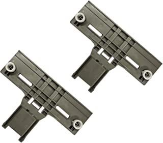 W10350376 Dishwasher Top Rack Adjuster Replacement Fits for Whirlpool & Kenmore Dishwashers - Pack of 2