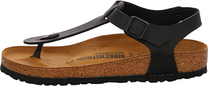 Sandalo unisex birkenstock kairo khaki birko-flor/nubuk 147171