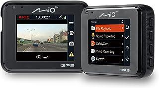 Mio MiVue C330 HD Dashcam Videokamera für Auto mit Integriertem GPS, F2.0 Objektiv, 130..