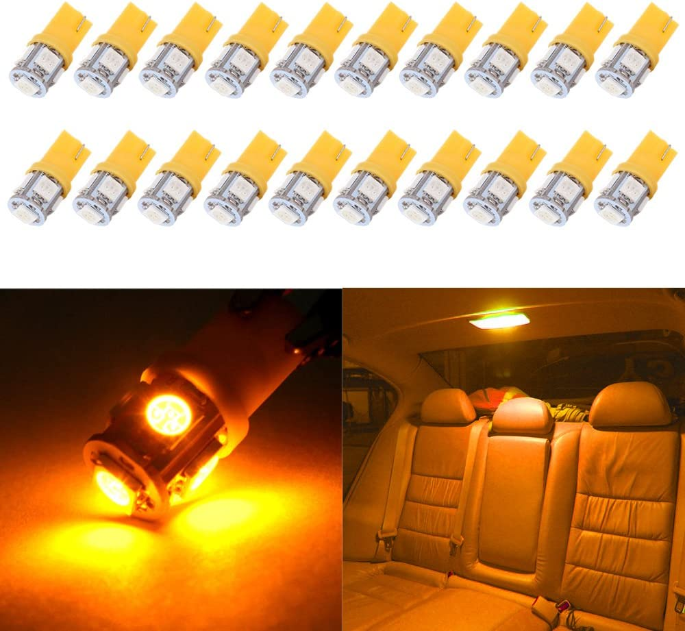cciyu Limited Special sale item price 194 LED Bulbs T10 168 20-3528-SMD for fit Lights 2835