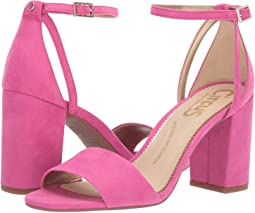 Pink Dahlia Microsuede