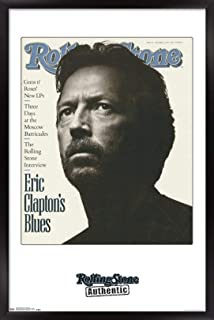 Trends International Rolling Stone Magazine - Eric Clapton 91 Wall Poster, 14.725