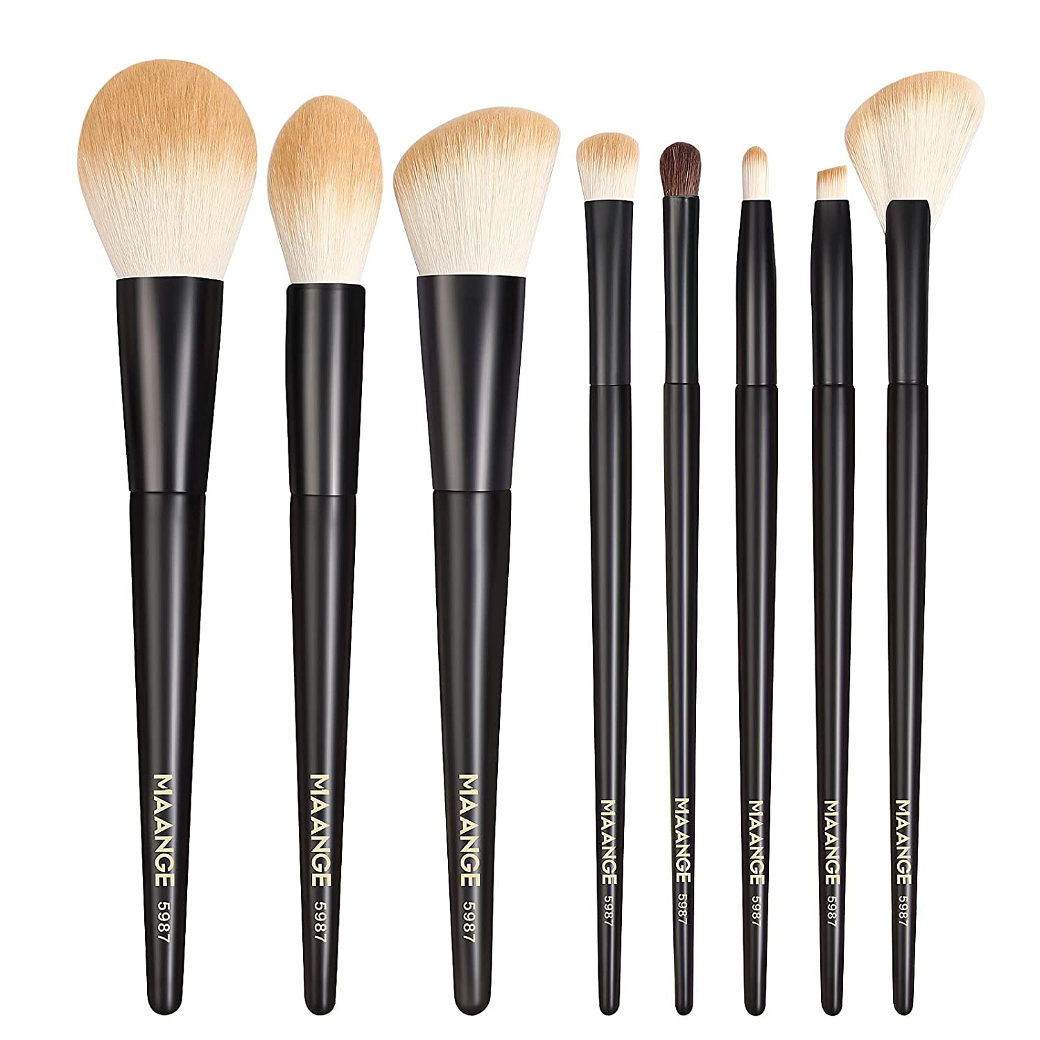 MAANGE Free shipping anywhere in the nation Free shipping New Makeup Brushes Premium Brush Synthetic Profes Set