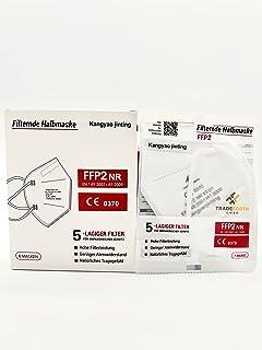 100x Masque de Protection FFP2-5 Couches - CE0370 - Dermatest: Tres Bon