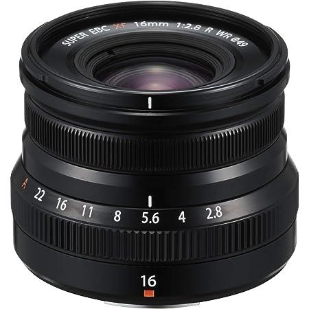 FUJIFILM 交換レンズ XF16mmF2.8 R WR B