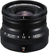 Fujifilm Fujinon XF16mmF2.8 R WR Obiettivo Fisso per Mirrorless 16 mm, f/2.8, Resistente alle Intemperie, Attacco X Mount, Nero