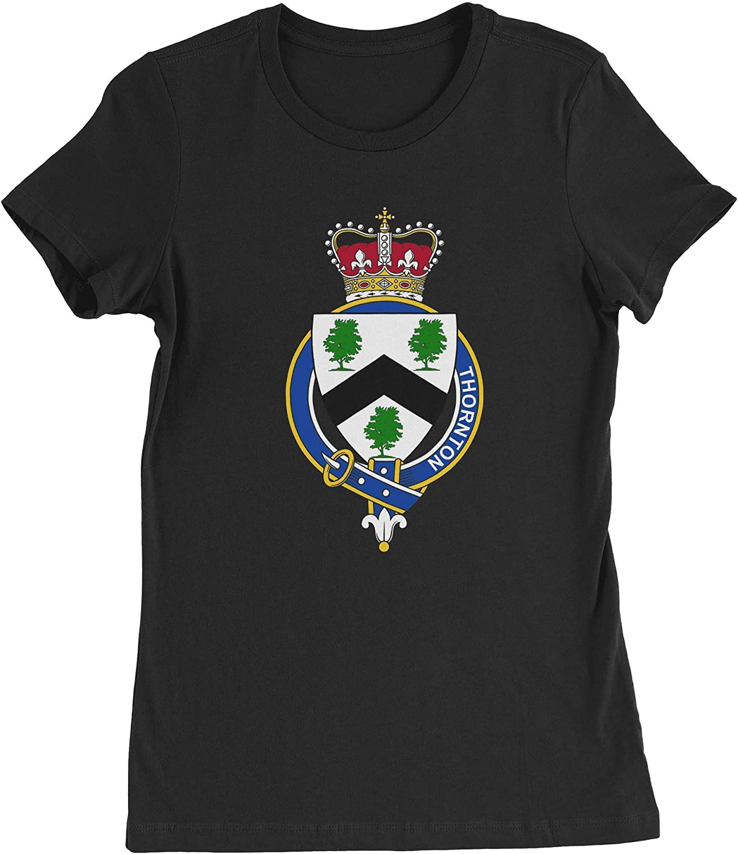 HARD EDGE DESIGN Women's English Garter Family Thornton T-Shirt