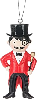 Circus Ring Master Resin Stone Christmas Ornament Figurine