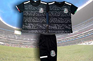 Soccer New Mexico Black Negro Home Copa Oro 2019 Kids Kit