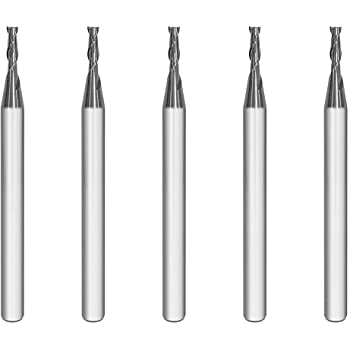 AlTiN Coated 90 Degree 2-1//2 Overall Length 3//8 Shank 3//8 Diameter 2 Flute Kodiak Cutting Tools KCT253895 USA Made Double End Solid Carbide Chamfer Mill