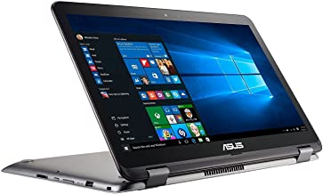 """ASUS 2-in-1 15.6"""" Full HD Convertible Touchscreen Laptop, Intel Core i5-7200 2.5 GHz, 8GB DDR4 RAM, 1TB HDD + 128GB SSD, N..."""