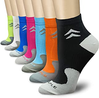 CHARMKING Compression Socks for Women & Men Circulation (3/6/7 Pairs) 15-20 mmHg is Best for...
