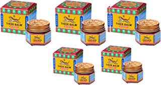 Tiger Balm Red Ointment 21ml (19.2g) - Pack of 5