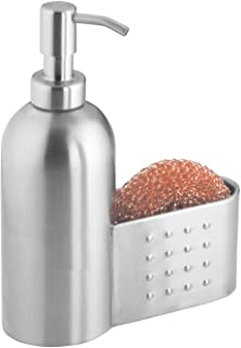 Amazon.com: Stainless Steel - Countertop Soap Dispensers ...