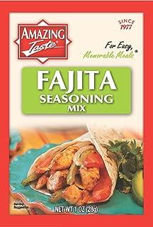 Amazing Taste Fajita Seasoning Bundle (10 Packets- 1 oz ea.)