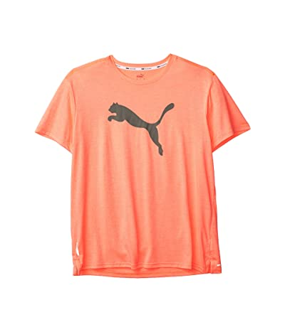 PUMA Unit Heather Cat Tee (NRGY Peach Heather) Men