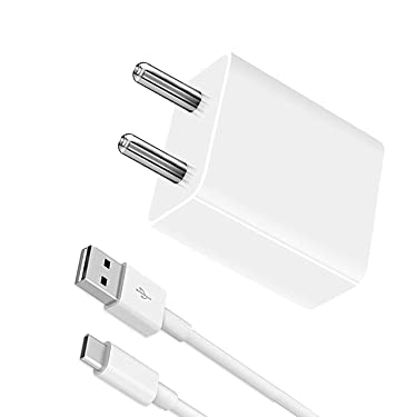 Fast Type C Charger for New Macbook 12 inch, Nexbit Robin, Nextbit Robin, Nokia 10, Nokia 7, Nokia 8, Nokia 9, Nokia E1, Nokia Edge, Nokia N1 Tablet Original Charger Adapter Wall Charger   Mobile Charger   Android Charger With 1 Meter USB Type C Charging Data Cable (2.1 Amp, White)