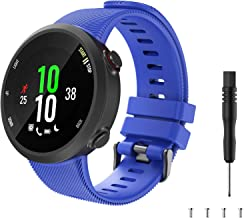 TiMOVO Band Compatible with Garmin Forerunner 45, Soft Silicone Band Adjustable Replacement Watch Strap Fit Garmin Forerun...