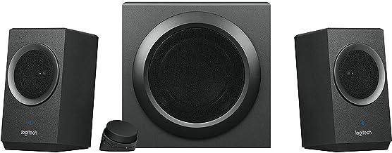 Logitech Z337 Bold Sound Bluetooth Wireless 2.1 سیستم بلندگو برای رایانه ها ، تلفن های هوشمند و تبلت ها (تجدید شده)