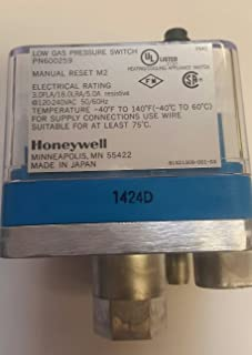 Best low gas pressure switch honeywell Reviews