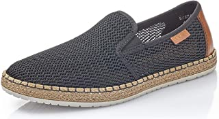 Rieker Men's Textile Slipper US 9/ EU 42 Black