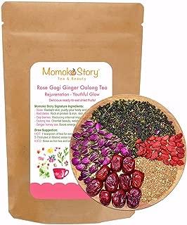 Rose Goji Ginger Honey Oolong Tea | Anti-Aging & Skin Revitalization, 4oz