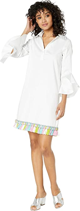 Tassel Trim Hem Dress