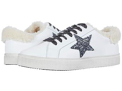 Steve Madden Polarize Sneaker (White/Natural) Women
