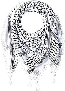 Premium Arabic Scarf 100% Cotton Shemagh Keffiyeh 47