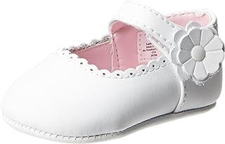 Baby Deer Leather Ballet Flat (Infant/Toddler)