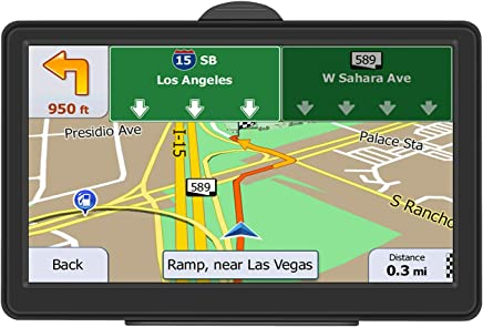GPS Navigation for Car, 7-Inch 8GB HD Touch Screen Car GPS Navigation System Vehicle GPS Navigator with Lifetime Maps