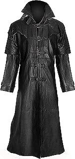 Men's Go-thic Duster Leather Coat - Van Helsing Legendary Vampire Leather Coat