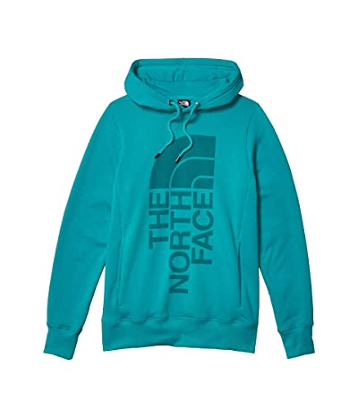 The North Face Trivert Pullover Hoodie (Jaiden Green) Women
