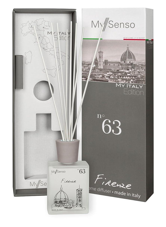 認証ヨーグルト移住するMySenso ディフューザー My Italy Edition No.63 フィレンツェ